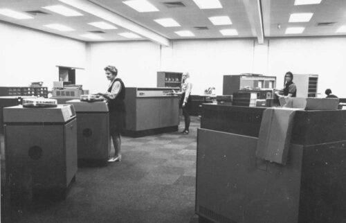 Computer Centre 1971 - Curtin University