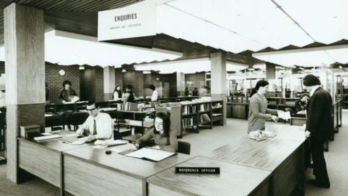 TL Robertson Library 1971