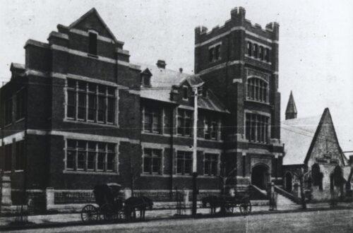 Perth Technical School, 1910