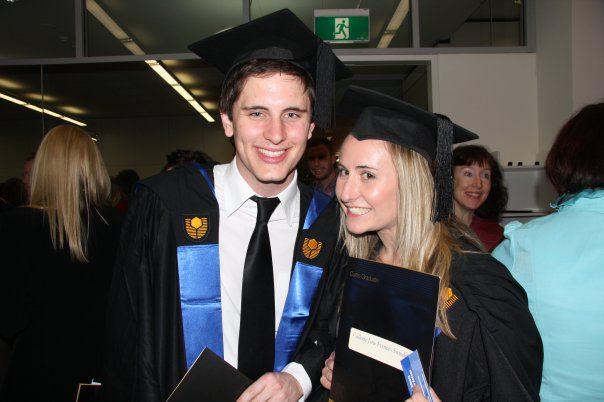 Collette Swindells Curtin Graduation 2009