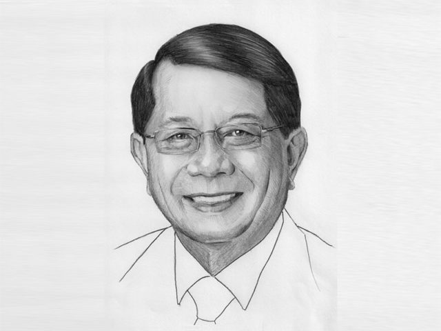 Sketch of George Chan
